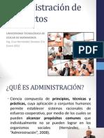 ADMINISTRACIÓN DE PROYECTOS-FORMATO