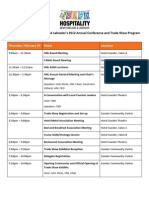 HNL's 2012 Conference and Trade Show Program