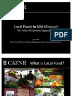 Local Foods in Mid-Missouri