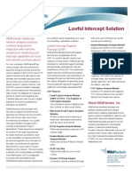 Lawful Intercept Support Datasheet