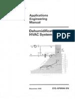 Trane AEM-Dehumidification in HVAC Systems