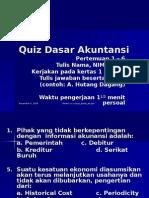 Quiz Dasar Akuntansi (1-6)