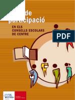 GUIA DE PARTICIPACIÓ EN ELS CONSELLS ESCOLARS DE CENTRE