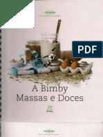 Livro Bimby - Massas e Doces