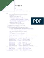 Código fuente de muticalendario