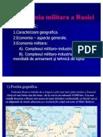 Economia Militara a Rusiei