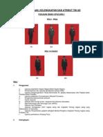 Penggunaan, Kelengkapan dan Atribut TNI AD