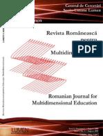 28608373 Antonio Sandu Oana Bradu tea Romaneasca de La Homo Balcanicus La Homo Europeaus in Revista Romaneasca Pentru Educatie Multidimensional a NR