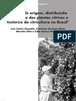 1-Centros de origem, distribuição geográfica e histórico da citricultura