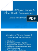 AHWMigration of Nurses