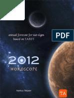 2012 ANNUAL HOROSCOPE FOR SUN SIGNS BASED ON TAROT