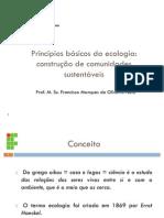Aula IFPI - Principios básicos de ecologia