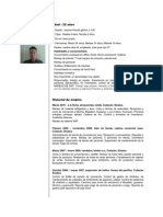Curriculum Juan Jose