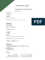Soluciones Tema 5 Algebra
