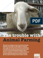The trouble with animal farming