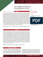 Incertezas na medição de gás-art06