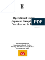 Guidelines Japanese Encephalitis