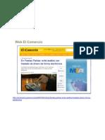Web El Comercio 2 de Julio 2011