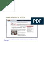 Web Andina 13 de Setiembre 2011