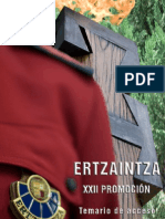 Temario Ertzaintza