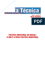 notatecPoliticaindustrial 2005
