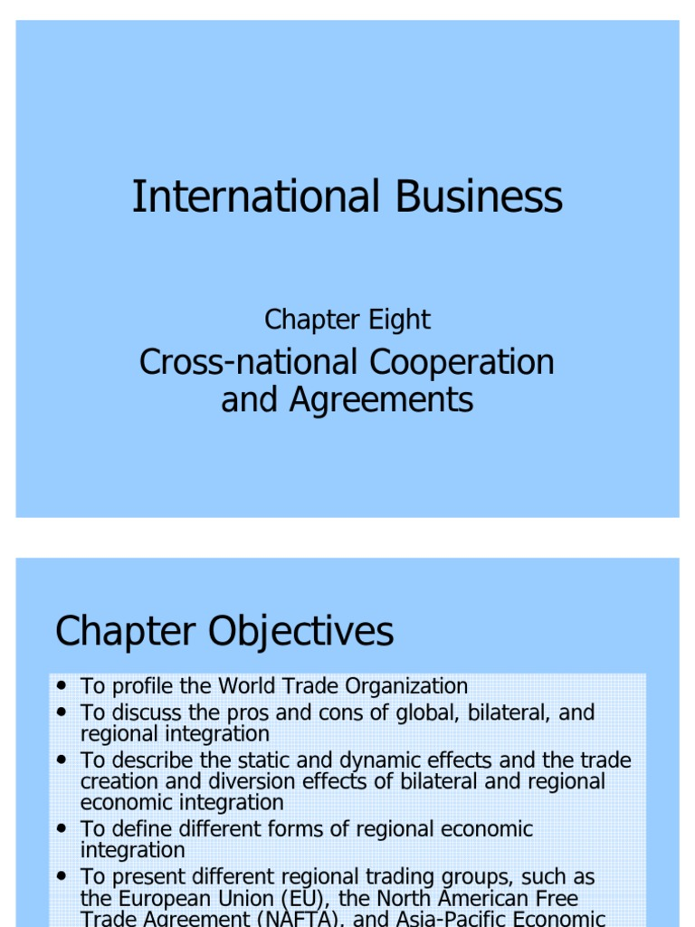 Daniels08pp 1 World Trade Organization General Agreement On