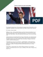 Obama Moves America Beyond Racial
