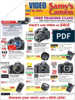 Samy's Camera Weekly Ad - 01/12/2012