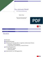 relationenmodell 1. vorlesung
