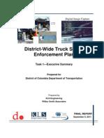 District Truck Safety Enforcement Plan