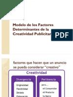 Modelo de los factores determinantes de la creatividad