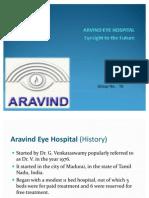 Arvind Eye Care - Final Ppt