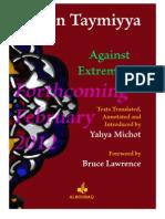 Ibn Taymiyya Against Extremisms