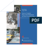 District Motor Carrier Management and Threat Assessment Study