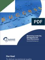 Management Training Brochure - Sep 2011