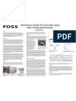 Monitoring a Single-Pot Granulator Using