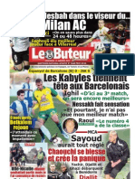 LE BUTEUR PDF du 11/01/2012