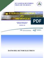 El Sector Electrico en Nicaragua
