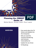 OWASP Testing Guide - OWASP Summit 2011