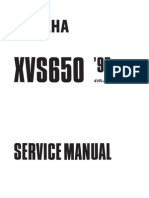 Yamaha Dragstar 650 Service Manual