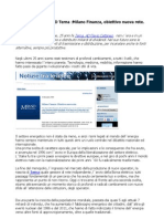 Flavio Cattaneo (Terna) Obiettivo nuova rete Milano Finanza