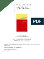 Mircea Eliade - A Prova Do Labirinto