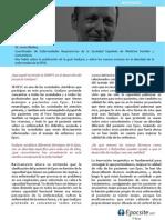 Entrevista al Dr.Jesús Molina