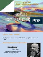 "prezentare Scoala ""Nicolae Iorga"", 2011"