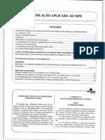 Legislação Aplicada ao MPU Comentada