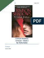 Trisha Baker - Crimson 03 - Crimson Shadows