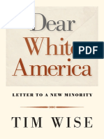 Note to Reader and First Pages from Dear White America