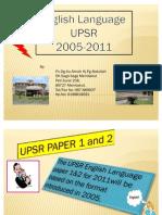 UPSR BI 2011