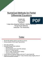 Numerical Methods 4 PDE