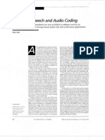 Wide Band Spech and Audio Coding
